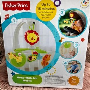 Brand New grow with me fisher price mobile